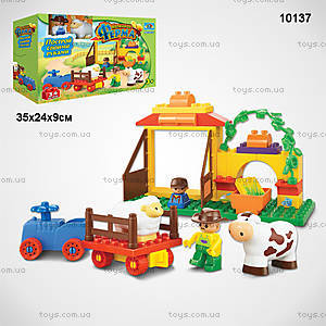 Конструктор «Маленькая ферма», 34 детали, 10137