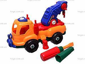 Конструктор «Машина» с отверткой, 6789-1