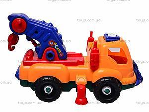 Конструктор «Машина» с отверткой, 6789-1, фото