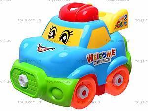 Конструктор «Машинка» для малышей, 5323, игрушки
