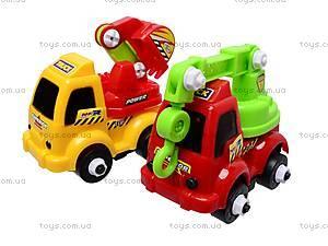 Конструктор-машинка «Строительная техника», JD013, игрушки