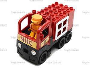 Конструктор-машинка «Пожарная», 01388823, фото
