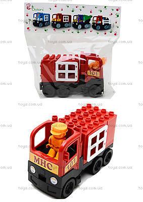Конструктор-машинка «Пожарная», 01388823