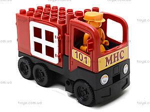 Конструктор-машинка «Пожарная», 01388823, отзывы