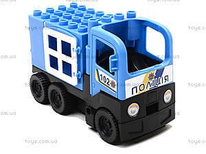 Конструктор-машинка «Полиция», 01388822, фото