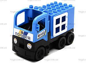 Конструктор-машинка «Полиция», 01388822, отзывы