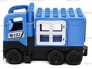 Конструктор-машинка «Полиция», 01388822, цена