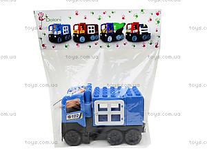 Конструктор-машинка «Полиция», 01388822, игрушки