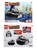 Детский конструктор World of tanks, 255 элементов, 81666, фото