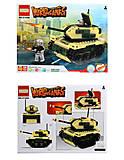 Детский конструктор World of tanks, 274 детали, 81668, фото