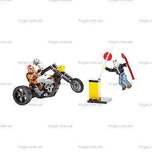 Конструктор Mega Bloks «Атака байкеров» из фильма «Подростки-мутанты Черепашки-ниндзя 2», DPW10, детские игрушки