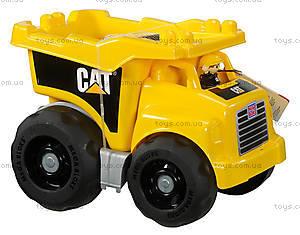 Конструктор Mega Bloks CAT «Большой самосвал с кубиками», DCJ86, фото