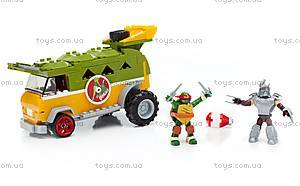 Конструктор Mega Bloks «Фургон для вечеринок» серии «Черепашки-ниндзя», DMX54, купить