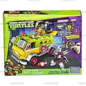 Конструктор Mega Bloks «Фургон для вечеринок» серии «Черепашки-ниндзя», DMX54
