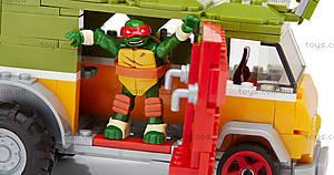 Конструктор Mega Bloks «Фургон для вечеринок» серии «Черепашки-ниндзя», DMX54, фото