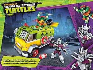 Конструктор Mega Bloks «Фургон для вечеринок» серии «Черепашки-ниндзя», DMX54, отзывы