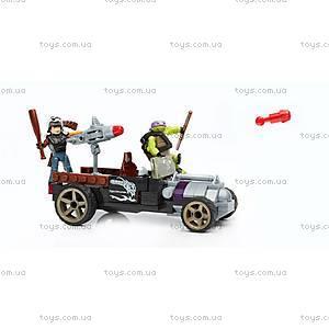 Конструктор Mega Bloks «Гоночный автомобиль Донни» серии «Черепашки-ниндзя», DMX52, магазин игрушек