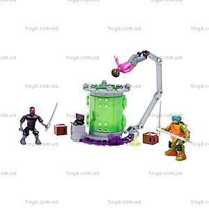 Конструктор Mega Bloks «Лаборатория мутаций» серии «Черепашки-ниндзя», DMX50, игрушки