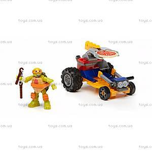 Конструктор Mega Bloks «Ниндзя-рейсер» серии «Черепашки-ниндзя», DMX36, toys