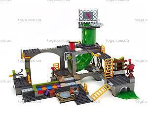 Конструктор Mega Bloks «Подземное убежище черепашек» серии «Черепашки-ниндзя», DMX55, купить