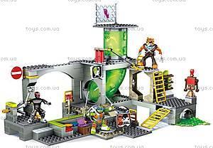 Конструктор Mega Bloks «Подземное убежище черепашек» серии «Черепашки-ниндзя», DMX55, фото