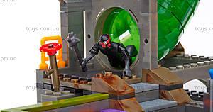 Конструктор Mega Bloks «Подземное убежище черепашек» серии «Черепашки-ниндзя», DMX55, отзывы