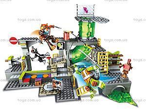 Конструктор Mega Bloks «Подземное убежище черепашек» серии «Черепашки-ниндзя», DMX55, игрушки