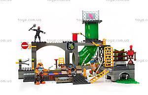 Конструктор Mega Bloks «Подземное убежище черепашек» серии «Черепашки-ниндзя», DMX55, детские игрушки