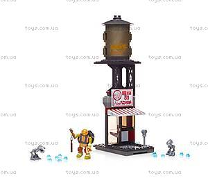 Конструктор Mega Bloks «Поединок в пиццерии» серии «Черепашки-ниндзя», DMX51, фото