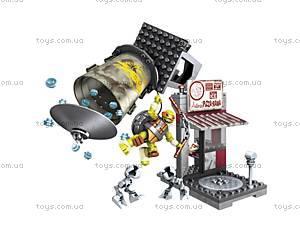 Конструктор Mega Bloks «Поединок в пиццерии» серии «Черепашки-ниндзя», DMX51, цена