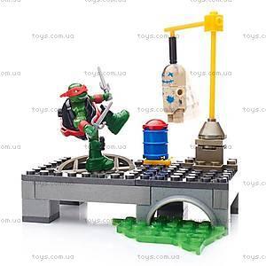 Конструктор Mega Bloks «Тренировочная площадка» серии «Черепашки-ниндзя», DMX33, фото