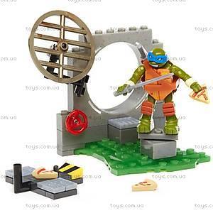 Конструктор Mega Bloks «Тренировочная площадка» серии «Черепашки-ниндзя», DMX33, игрушки