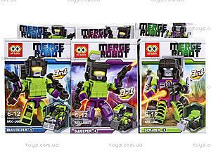 Детский конструктор Merge Robots, MX-J06, купить