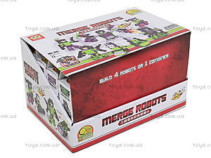 Детский конструктор Merge Robots, MX-J06, фото