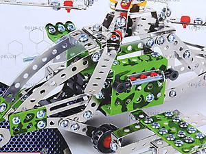 Детский металлический конструктор «Вертолет», 816B-146ES24647, фото