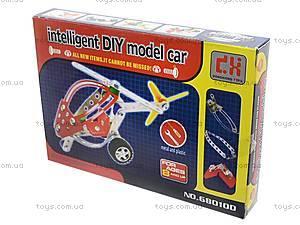 Конструктор металлический «Вертолет» для детей, 68010-11