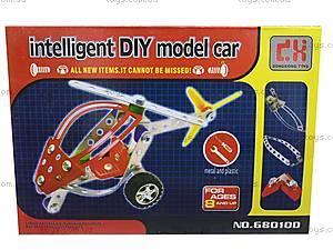 Конструктор металлический «Вертолет» для детей, 68010-11, отзывы