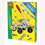 Детский металлический конструктор «Легковой автомобиль», 14951S, оптом