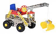 Конструктор металлический «Скрепер», 58034Ut, игрушки