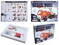 Металлический конструктор «Пожарная машина», 169 деталей, 816B-24, купить