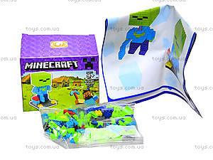 Конструктор Minecraft, 126 деталей, 1017, фото