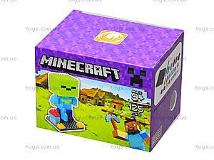 Конструктор Minecraft, 126 деталей, 1017, отзывы