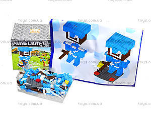 Детский конструктор Minecraft, 164 деталей, 1013, фото