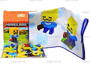 Конструктор для детей Minecraft, 165 деталей, 1016, купить