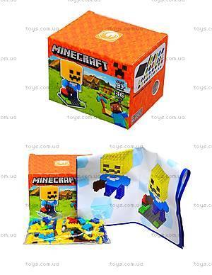 Конструктор для детей Minecraft, 165 деталей, 1016