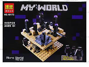 Конструктор Minecraft «Край», 440 деталей, 10173, купить
