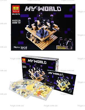 Конструктор Minecraft «Край», 440 деталей, 10173