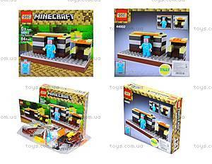 Конструктор Minecraft, 84 деталей, 44002