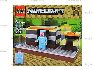 Конструктор Minecraft, 84 деталей, 44002, отзывы