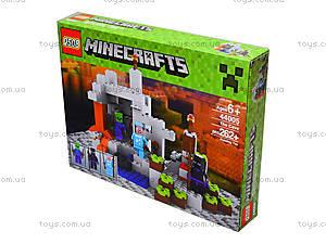 Конструктор Minecraft, 267 деталей, 44005, купить